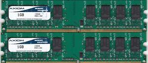 2GB 2x1GB PC-5300 DDR2-667 AXIOM MEMORY SOLUTIONS Ram Memory Kit