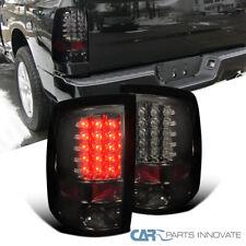 For Dodge 09-18 Ram 1500 10-18 Ram 2500 3500 LED Smoke Tail Lights Brake Lamps
