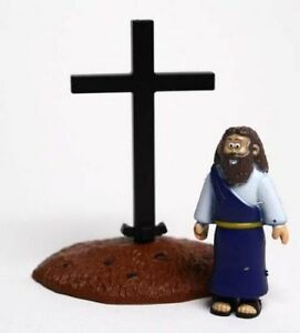 Jesus and Cross - Beginner's Bible Action Figure Toy Children's Gift