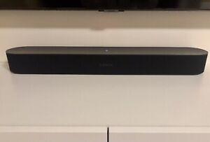 Sonos Beam BEAM1UK1BLK Compact Smart Soundbar with Alexa Voice Control - Black