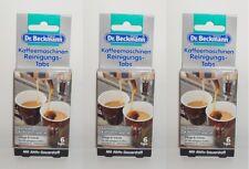 (100g=41,32€) 18x Dr. Beckmann Kaffeemaschinen Reinigungstabs , 18x1,6g
