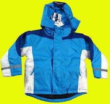 PLAYSHOES Kinder Winterjacke Schneejacke Übergangs Ski Jacke blau marine Gr. 116