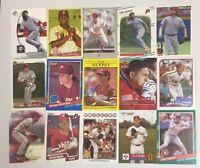 PHILADELPHIA PHILLIES 100 Different Card Team Lot SCHMIDT THOME  + 1980-2015
