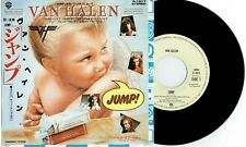 "VAN HALEN - JUMP - 7"" 45 RECORD w PICT INSERT - 1984 JAPAN"