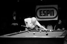Willie Mosconi World Champion Pool Player ESPN Studio Quality Photograph Poster