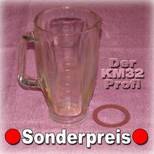█ BRAUN KM32 🔴 MIXERGLAS + NAGELNEUE DICHTUNG - Küchenmaschine KM + MX 32 31 3