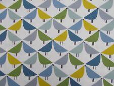 Harlequin/Scion Fabric 'LINTU' 3.2 METRES (320cm) Gecko/Pacific/Glazier