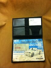 1986 Mazda B2000 pickup truck complete factory Owner's Manual #8672