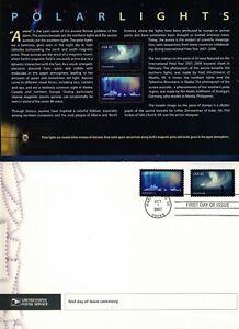 USA. 2007 International Polar Year (4123) . First Day Cover & Ceremony Program