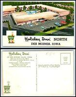 IOWA Postcard - Des Moines, Holiday Inn North M32