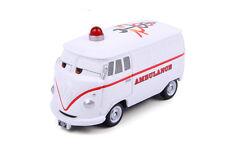 Disney CARS Fire Rescue Go! Go Fillmore Ambulance Diecast Tomica Tomy No Box