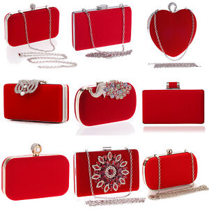 Womens Bags Party Cocktail Prom Wedding Clutch Bridal Evening Handbags Purse Bag