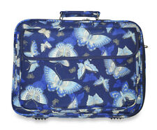 Butterfly 17 inch Laptop Case Briefcase Womens Work School Messenger Bag