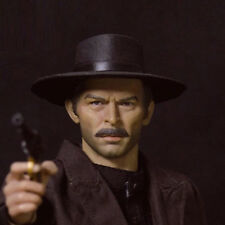 "The Good, the Bad and the Ugly Lee Van Cleef Head Sculpt for 12"" Action Figures"