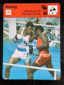 LEON SPINKS 1979 Sportscaster Card #65-05 BOXING