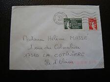 FRANCE enveloppe 1979(vignette de protestation bretigny sur orge)(cy6)french