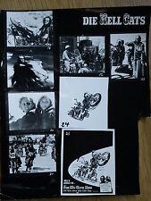 HELLS ANGELS '70  contact sheet #1  Harley Davidson Chopper Sonny Barger BIKER