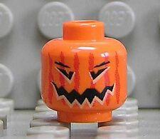 LEGO - Kopf Kürbis orange / Kürbiskopf / Halloween / 3626bpb0388 NEUWARE