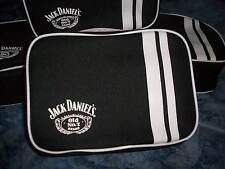 JACK DANIELS JD LOGO COOLER BAG LUNCH TRAVEL BAG WITH ZIP OR BATHROOM BAG