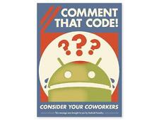 ANDROID FOUNDRY DESIGN COMMENT THAT CODE POSTER