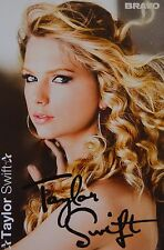 TAYLOR SWIFT - Autogrammkarte - Autograph Autogramm Fan Sammlung Clippings