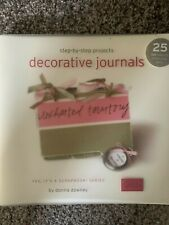 """Scrapbooking  Book """"Step-by-step Projects For Decorative Journals"""