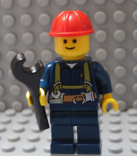 LEGO Town Minifig Cell Tower Builder Service Tech Worker Safety Harness Torso