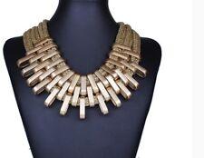 Vintage Fashion Necklaces &Pendants Women Statement Necklace Gradient Drops Chok