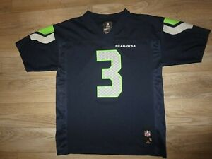 Russell Wilson #3 Seattle Seahawks NFL Jersey Youth L 14-16 Large children