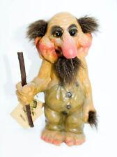 Vintage Large Norway Nyform Fosse Troll Good Luck Rare! #111