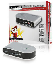 König Audio/phono USB Adapter
