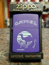 New ListingPurple Camel Zippo Lighter