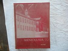 ** Vintage 1972 Andalusia Alabama Memolusia Yearbook Book ** Great Cond!