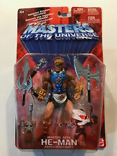 Masters of the Universe Martial Arts He-Man figure 2002 Mattel Brand New sealed