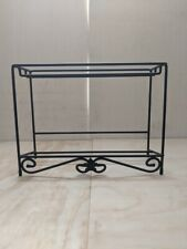"""""""Priority Mail"""" Longaberger Wrought Iron Top Rack Media Stand Table Shelf"""