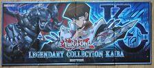 Yu-gi-oh Legendary Collection 6 Playmat Kaiba - Hard Board New FREE UK Postage