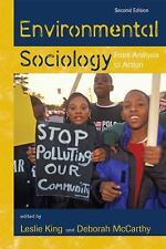 Environmental Sociology: From Analysis to Action by King/Mccarthy - 2e