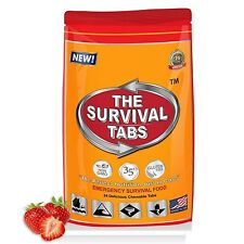 MRE Survival Pack Complete Meal Strawberry Doomsday Prepping Camping Hiking