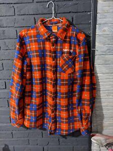 ThirtyTwo Mens Reststop Polar Fleece Shirt  fleece snowboard shirt Sz L