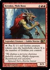 KRENKO, MOB BOSS M13 Magic 2013 MTG Red Creature—Goblin Warrior RARE