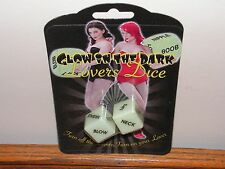 Glow in the dark lovers DICE lovers novelty toy