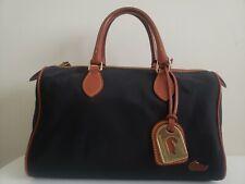 Dooney And Bourke Nylon Satchel Zip Top Purse Handbag