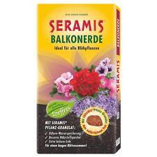 Seramis Balkon-Blumenerde ohne Torf mit Pflanz-Granulat, vorgedüngt, 50 Liter