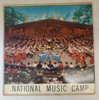 National Music Camp Interlochen, MI - National Highschool Orchestra Vinyl Record
