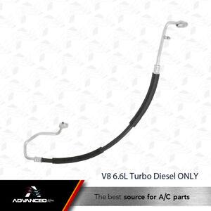 AC A/C Discharge Line Fits: 2003 - 2010 Sierra - Silverado 2500HD 3500 V8 Diesel