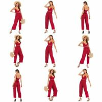 Floral Romper Jumpsuits Ladies Womens Trousers Clubwear Bodysuit Party Casual