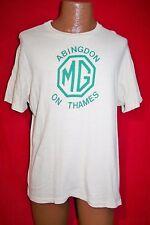 VINTAGE AÑOS 80 mg Abingdon On Thames Camiseta Coches Enano Británico automobile