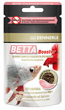 Dennerle Premium Fish Food Betta Booster 30ml for Siamese Fighters & Labyrinth