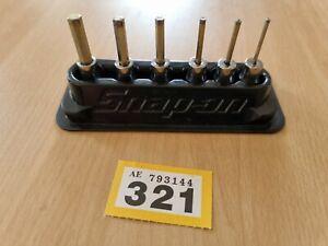 Snap-On 6 Piece Hex Set TMAM2E, TMAM2.5E, TMAM3E, TMAM4E, TMAM5E, TMAM6E