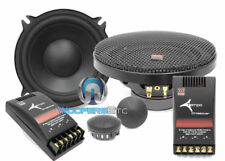 """TEMPO 5  MOREL 5.25"""" 2-WAY COMPONENT CLEAN SPEAKERS MIDS TWEETERS CROSSOVERS NEW"""